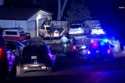 Carjacking suspects crash into garage during sheriff pursuit