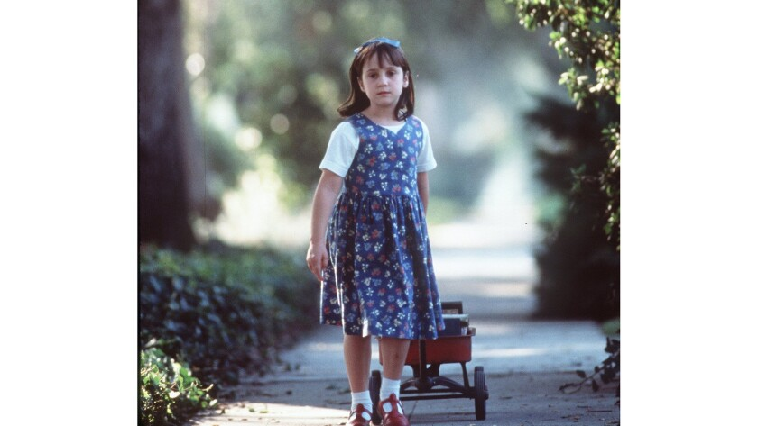 Mara Wilson in 'Matilda'