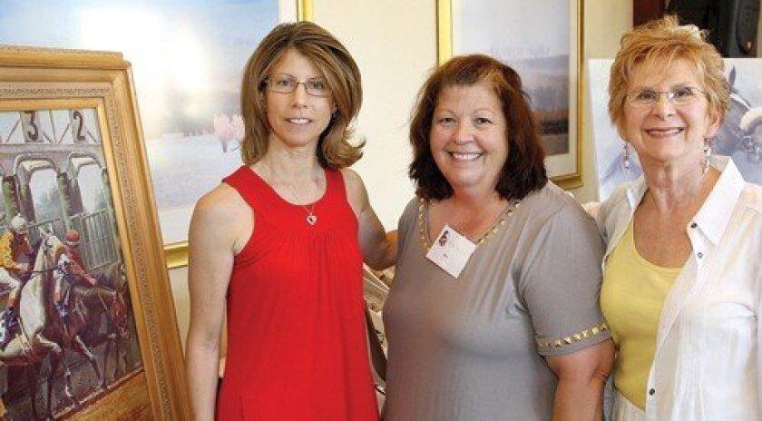 After the Finish Line President Dawn Mellen, Abbey Esty, Corrine Hanley