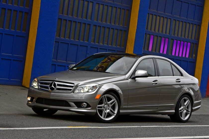 Mercedes-Benz has issued a recall for up to 284,000 C-Class cars sold in the U.S. and Canada between 2007 and 2011. This C300 Sport is among the cars that might be affected.