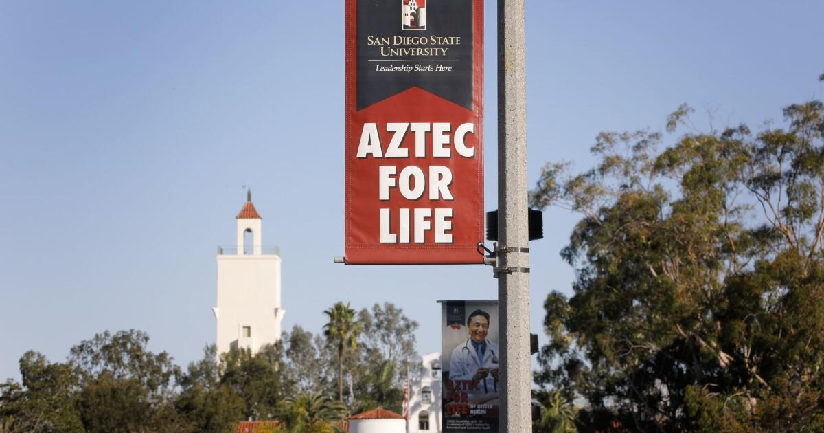 Sdsu Spring 2022 Calendar.Sdsu Students In Uproar After Faculty Cancels Spring Break Los Angeles Times