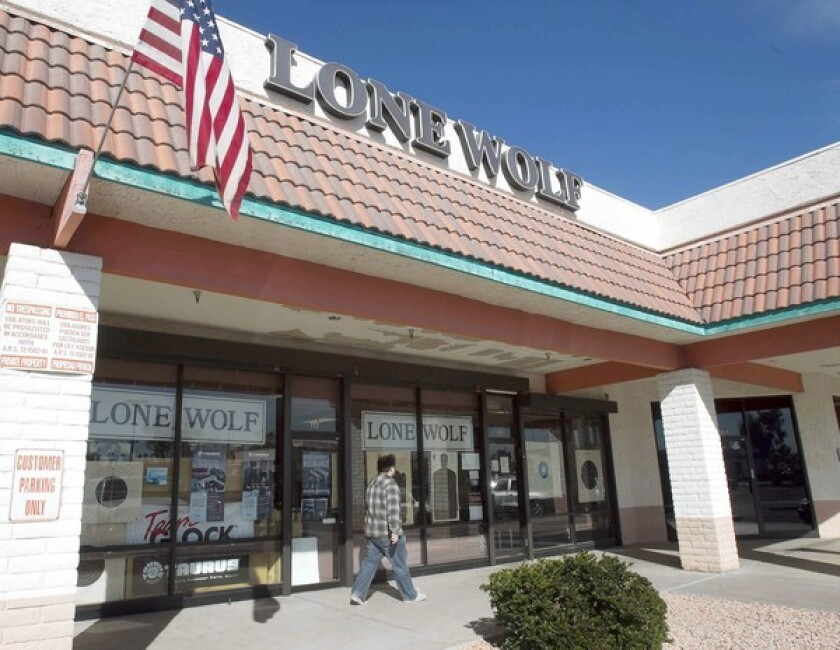 Andre Howard owns the Lone Wolf gun store in Glendale, Ariz., part of Operation Fast and Furious.