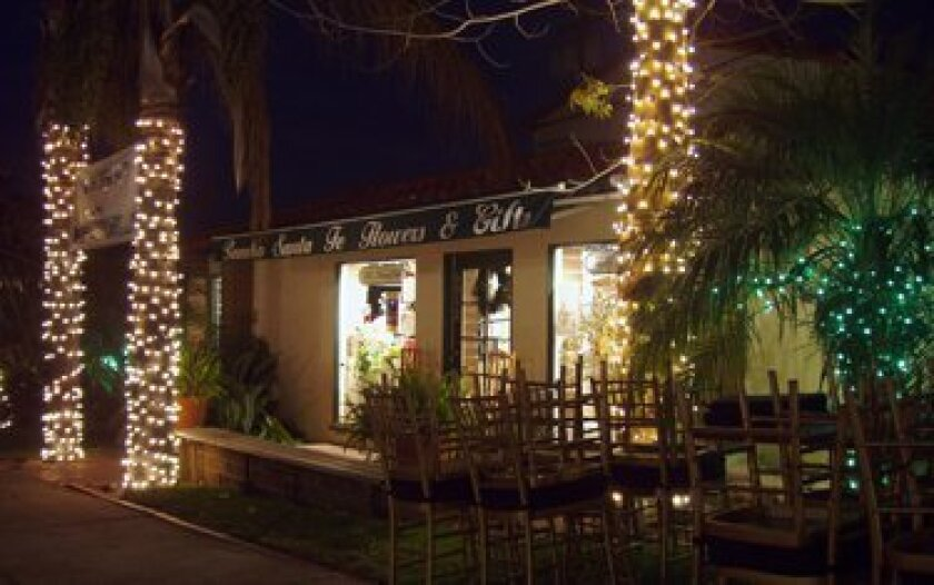 RSF Flowers & Gifts is responsible for the festive lights around the village during the holiday season.