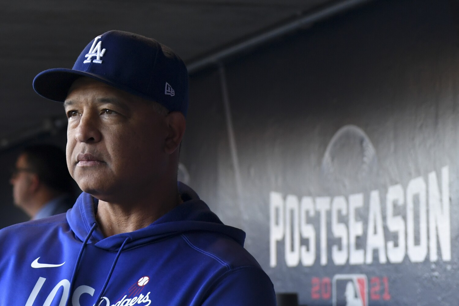 Dave Roberts 'expecting,