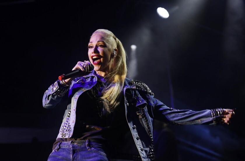 MALIBU-CA-DECEMBER 2, 2018: Gwen Stefani performs during the One Love Malibu benefit concert at King