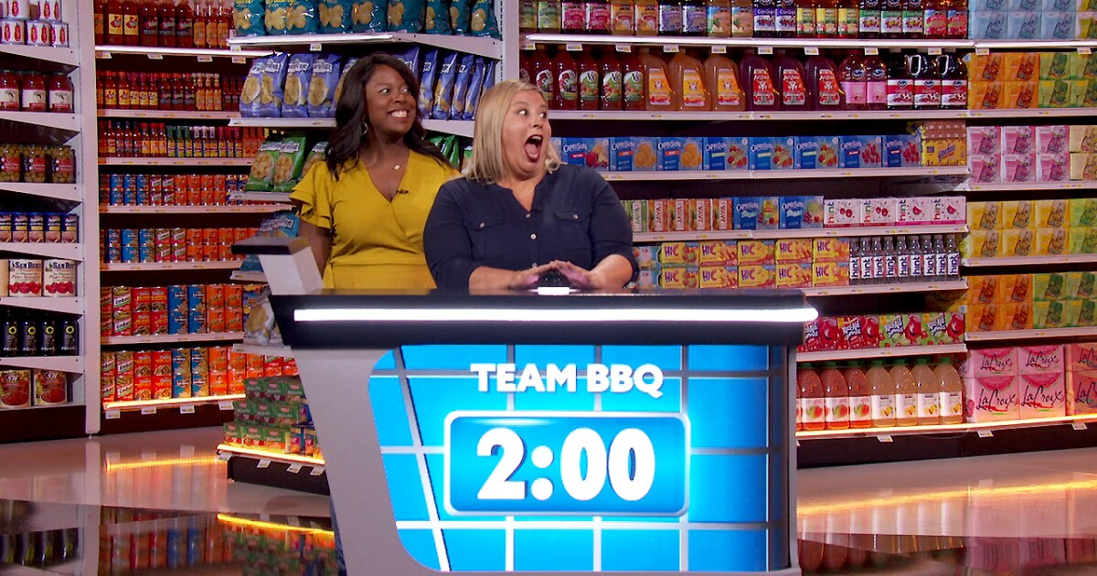 The 'Supermarket Sweep' reboot wants to be a nostalgia trip to life before COVID-19