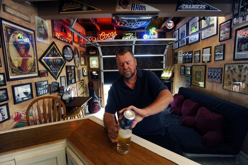 There S No Place Like Man Cave The San Diego Union Tribune
