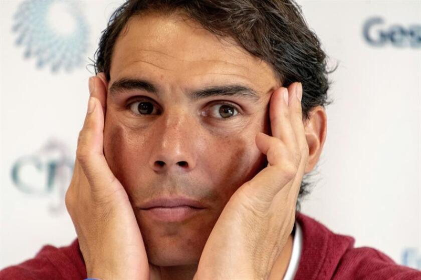 """Rafael Nadal, número dos del tenis mundial, apoyó los cambios que se van a introducir esta temporada en la Copa Davis """". EFE/Archivo"""