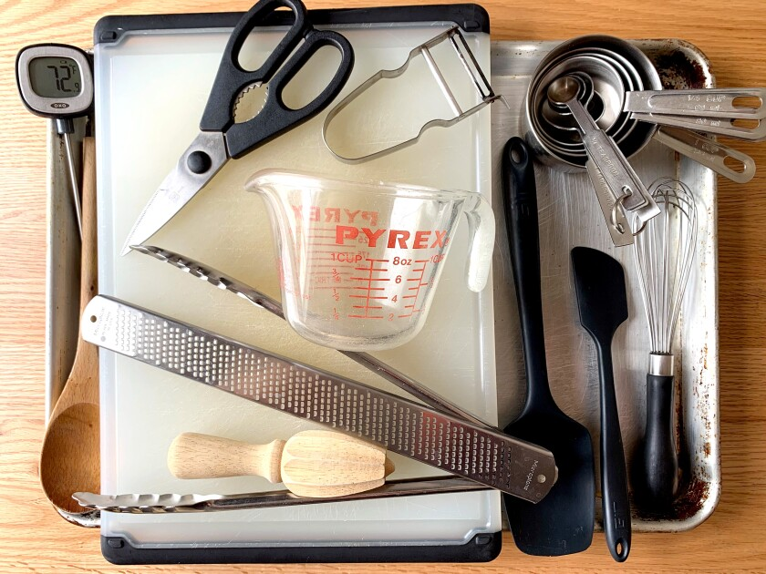 Virtually all the tools and equipment you need to cook efficiently in the kitchen.
