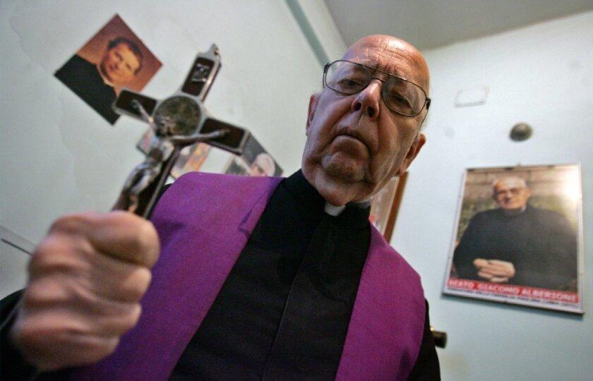 Exorcist Gabriele Amorth