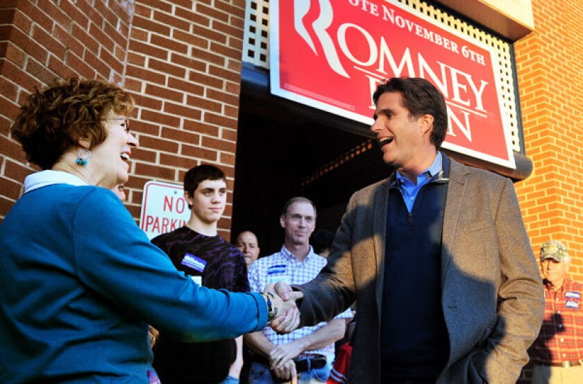 The short career of Tagg Romney, Dodgers executive