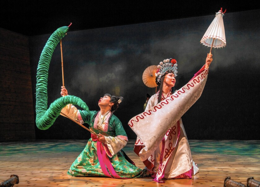 Review: 'The White Snake' at Old Globe is a sprightly ...