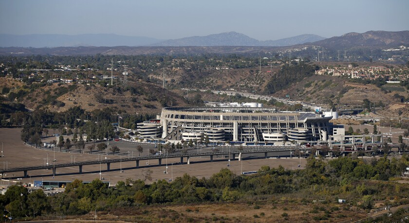 SDCCU Stadium in Mission Valley