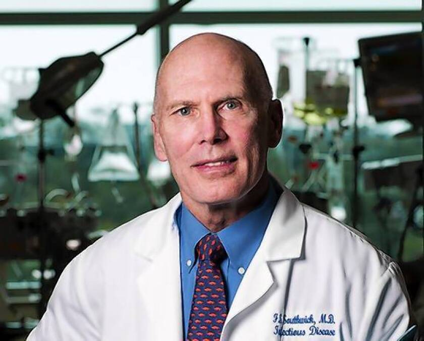 The multitude of health issues his wife suffered led Dr. Frederick Southwick, chief of infectious diseases at the University of Florida, to write his book.