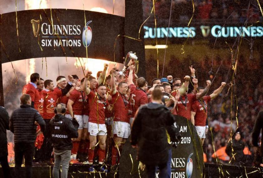 La selección de rugby de Gales logra el título y el Grand Slam EFE/EPA