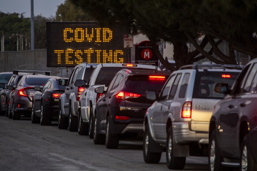 L.A. County grapples with surging COVID-19 caseload ...
