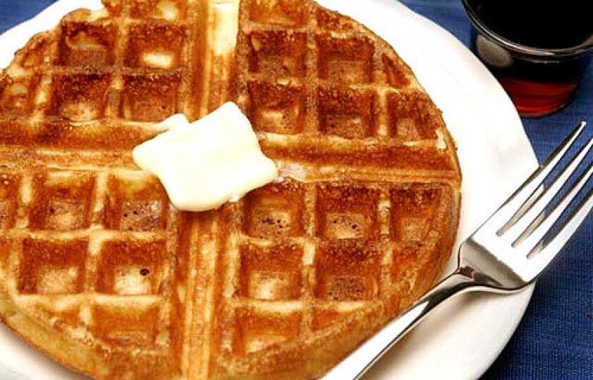 BATTER UP: The secret is egg whites.