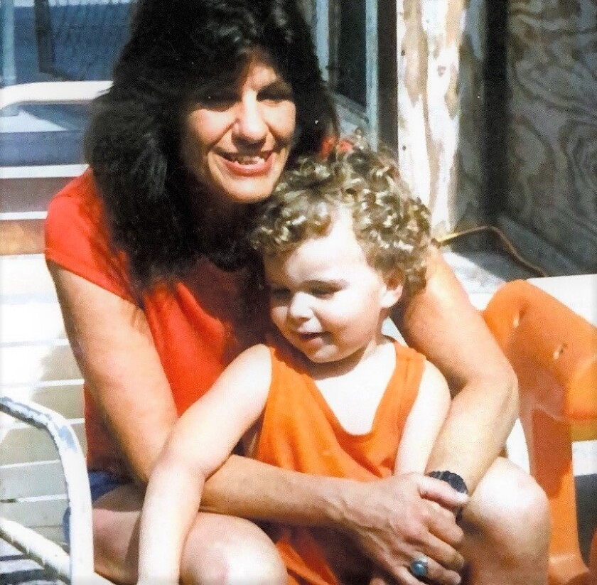 San Diego single mom, Terri Lynn Nealon, sits with her son, Ryan, who was 5 when Nealon was killed by a drunk driver.