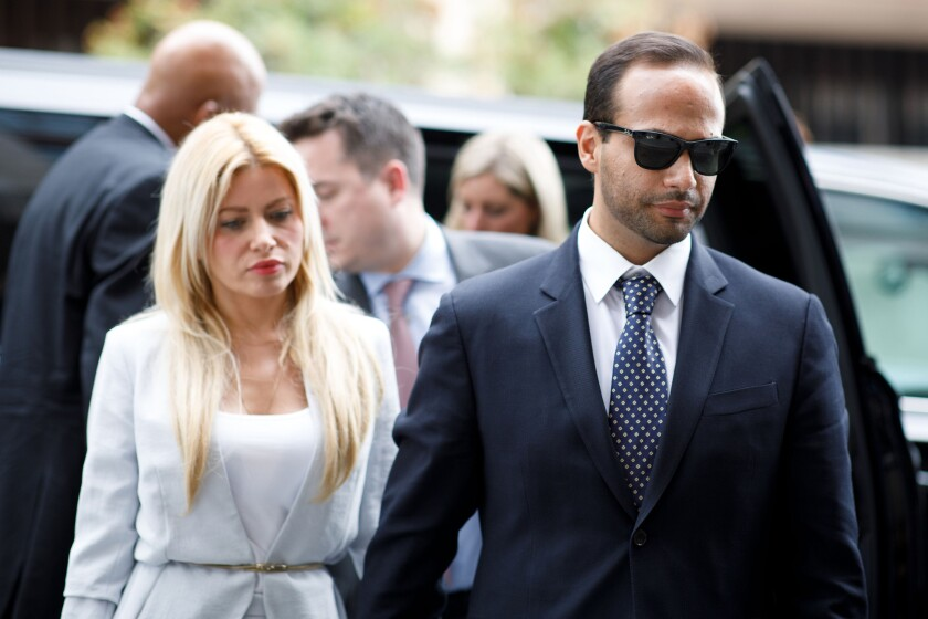 Area Republicans to host former Trump aide Papadopoulos in La Cañada event