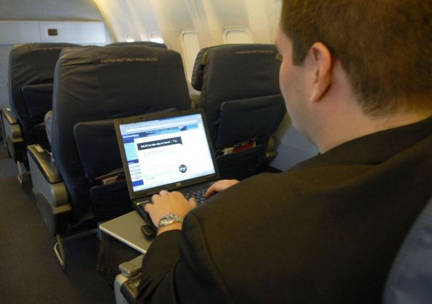 AT&T promises to offer 4G wireless Internet for planes as soon as 2015. The move would put AT&T in competition with GoGo, one of the largest provider on onboard WiFi.
