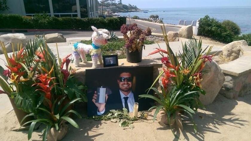 Nate Upton memorial. (/ Sheri Briggs)