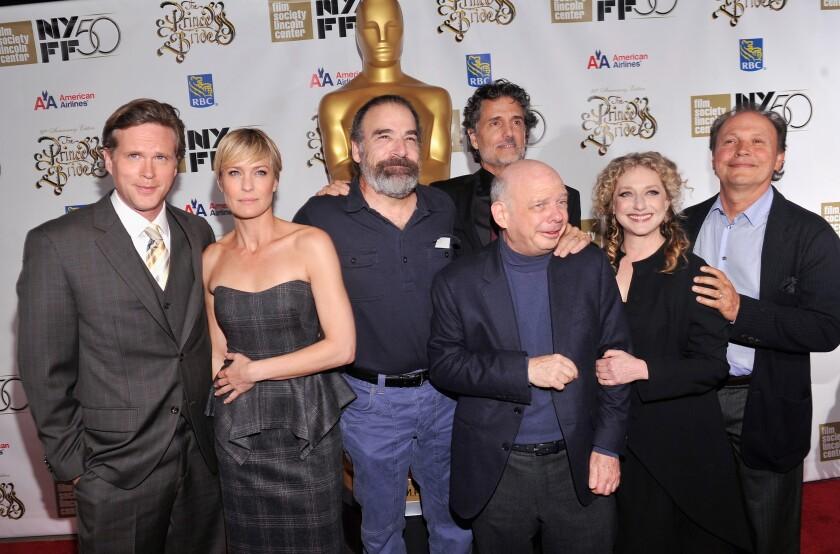 Cary Elwes, Robin Wright, Mandy Patinkin, Chris Sarandon, Wallace Shawn, Carol Kane, and Billy Crystal