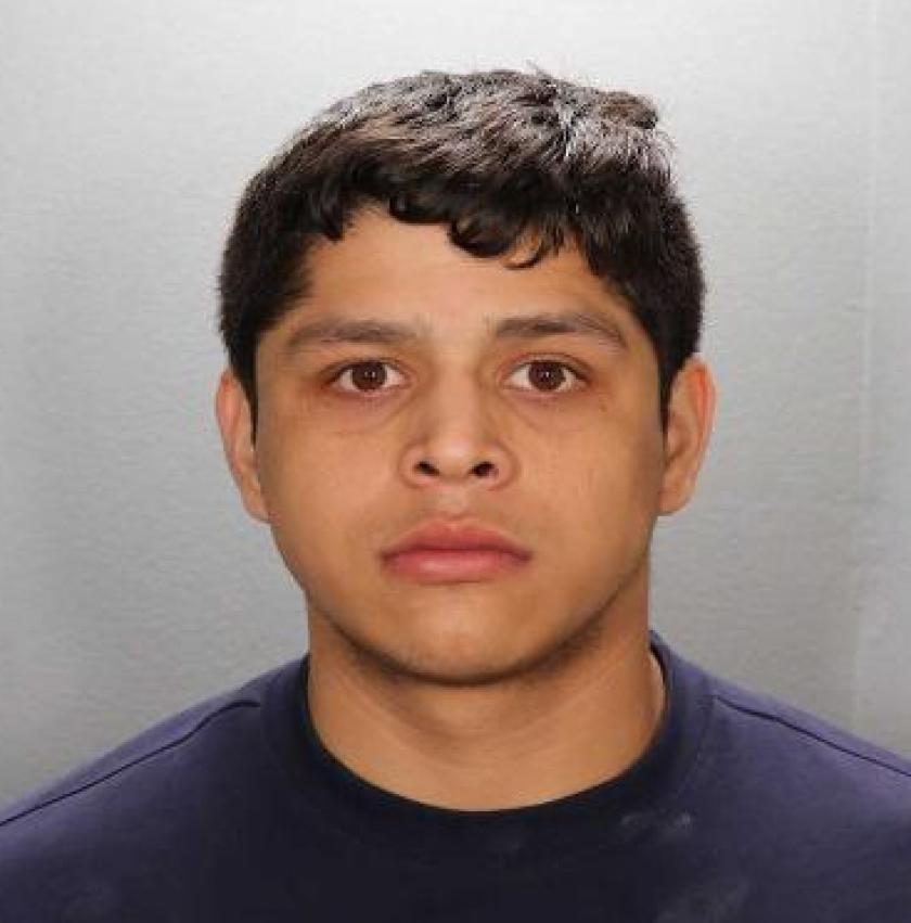Rigoberto De Jesus Morales, 22, of Garden Grove was arrested by Fountain Valley police on Tuesday, April 13.