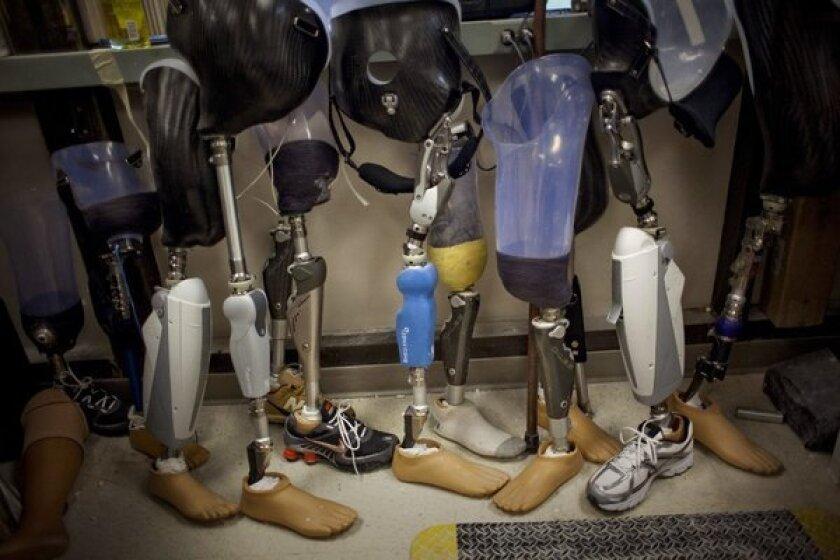 Prosthetics after Boston Marathon bombing