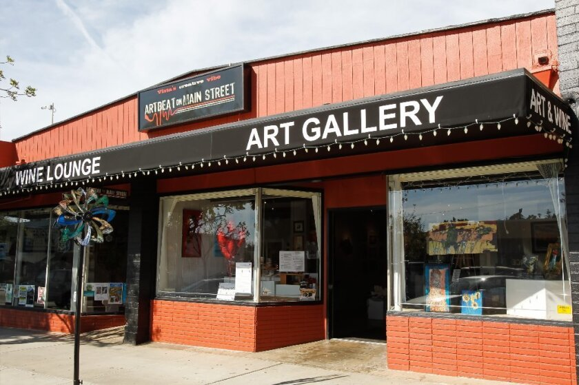Art Beat on Main Street, near the iconic Avo Theater in downtown Vista, is closing up shop Feb. 2, much to the disappointment of local artists.