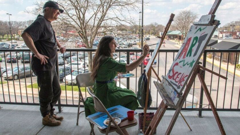 You can watch artists in action at Rockford's Spring ArtScene, April 12-13.