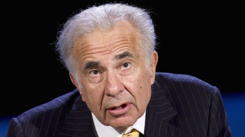 Billionaire Carl Icahn, pictured in 2007, dumped $31.3 million in steel-related stock days before the White House announced intentions to impose steep tariffs on steel imports.