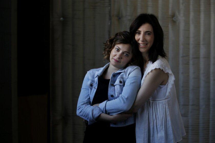 """Crazy Ex-Girlfriend"" creators Rachel Bloom and Aline Brosh McKenna sketch out the plot of each episode together."