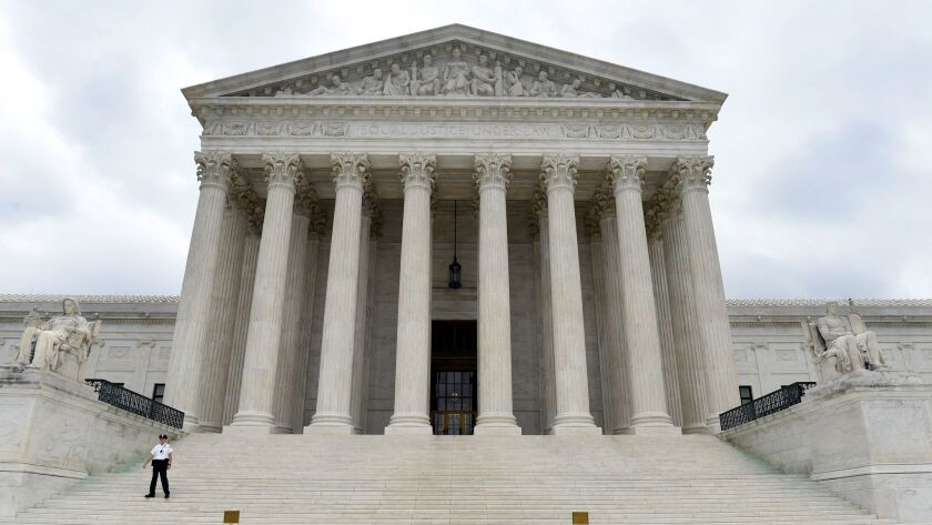 The U.S. Supreme Court in Washington on Oct. 3, 2014.