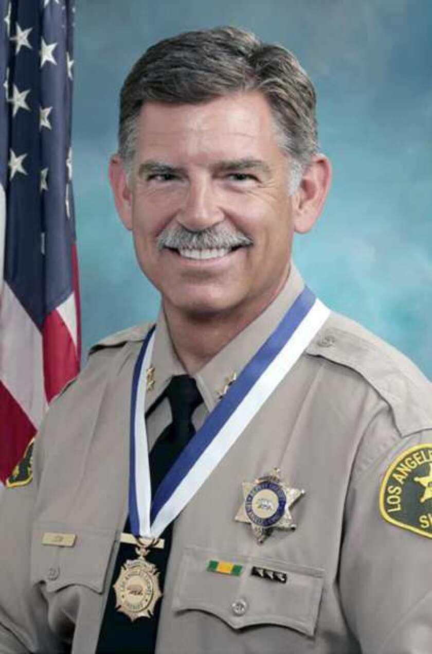 Reserve Chief Mike Leum. (Courtesy of the Los Angeles County Sheriff's Department)