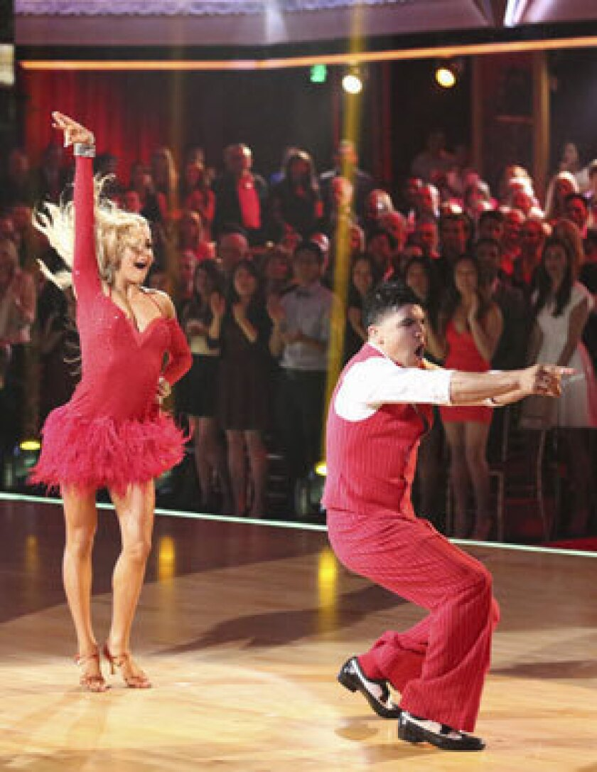 Victor Ortiz discusses Week 2 of 'Dancing with the Stars'