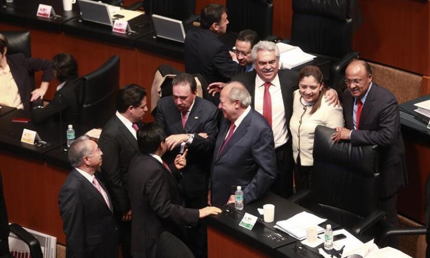"""Un extenso grupo de expertos de la Organización de las Naciones Unidas (ONU) advirtieron que el proyecto de Ley de Seguridad Interior que será sometido hoy a votación en el Senado mexicano """"supone riesgo para los derechos humanos y debe ser rechazado"""". EFE/ARCHIVO"""