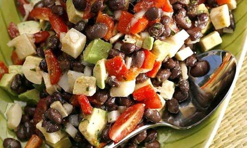 Recipe: Brazilianesque black bean salad - Los Angeles Times