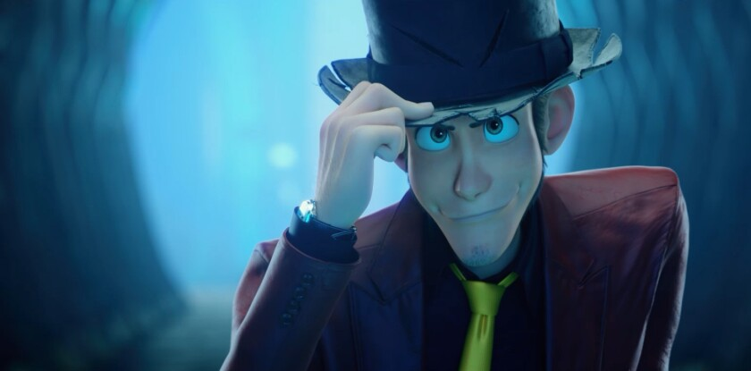 An animated man tipping his top hat