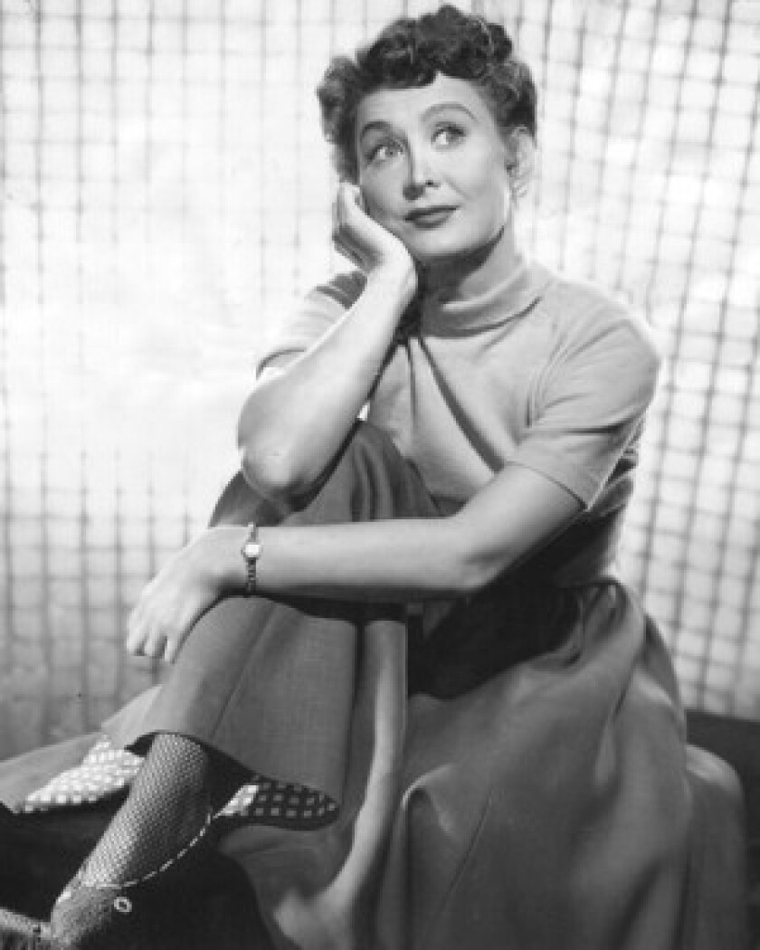 """Betty Garrett """"was a woman of boundless optimism,"""" said Miles Kreuger, president of the Institute of the American Musical. """"On the screen and on television there was just a wonderful sense of joy."""""""