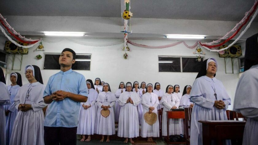 MYANMAR-RELIGION-POPE