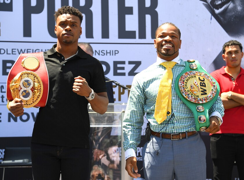 Errol Spence Jr v Shawn Porter - Press Conference