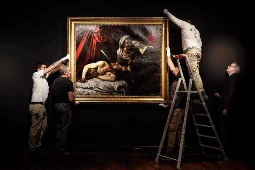 TOPSHOT-FRANCE-ITALY-ART-CARAVAGGIO