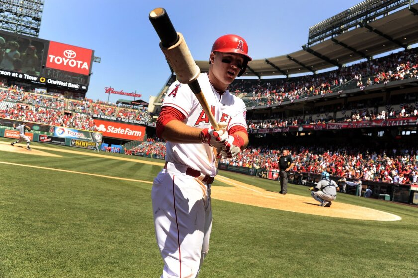 Mike Trout can do it all.