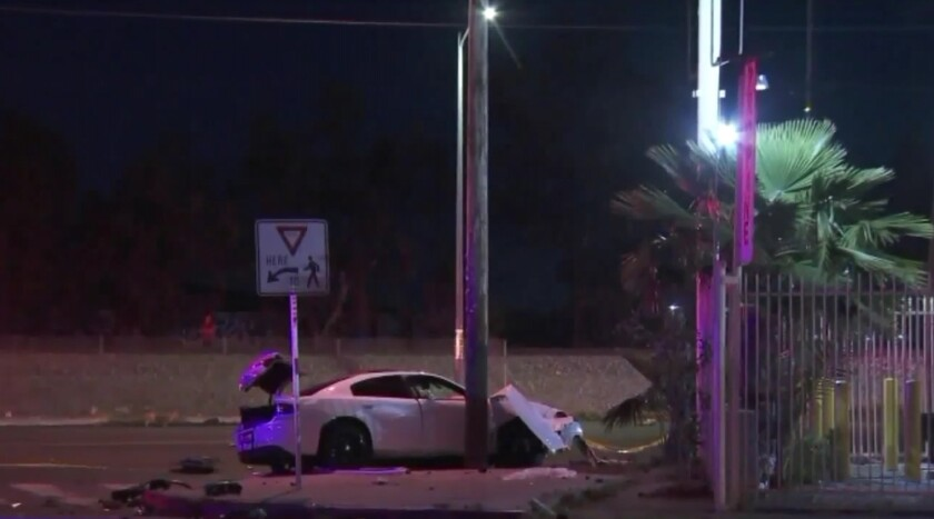 A double fatal hit-and-run crash Friday night in Sun Valley that may have resulted from street racin