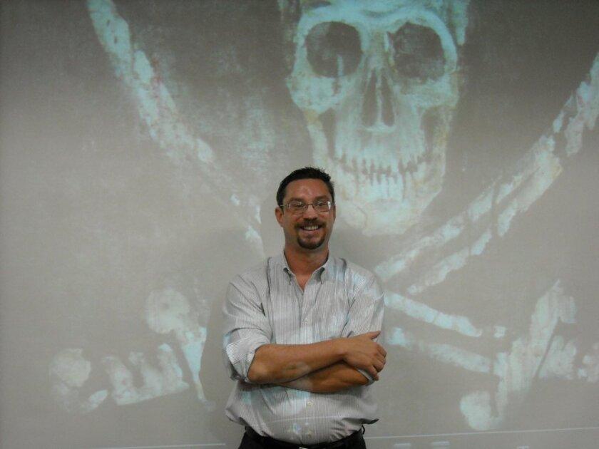 UCSD History Professor Mark G. Hanna