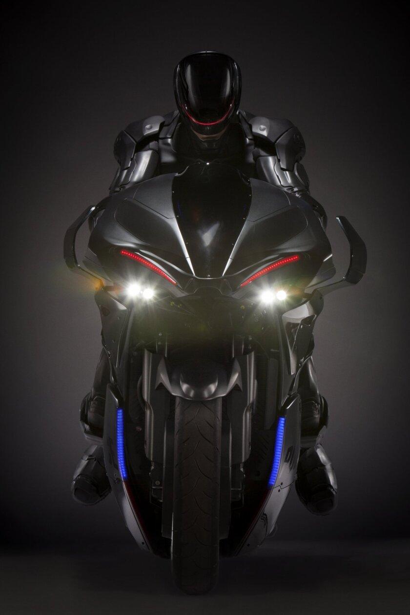'RoboCop' motorcycle