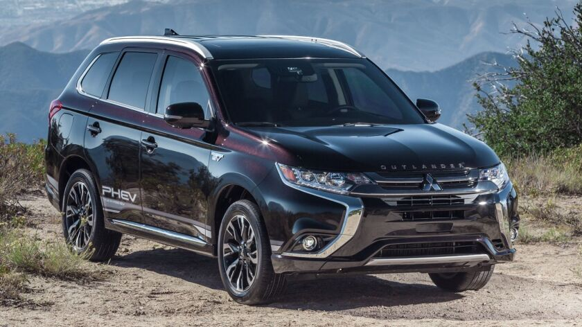 The five-passenger Outlander PHEV is sold in two trim levels, both with all-wheel-drive. Pricing starts at $35,590 before any state or federal incentives or rebates.