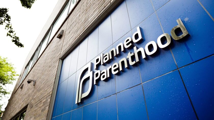 Planned Parenthood Clinic in New York, USA - 18 May 2018