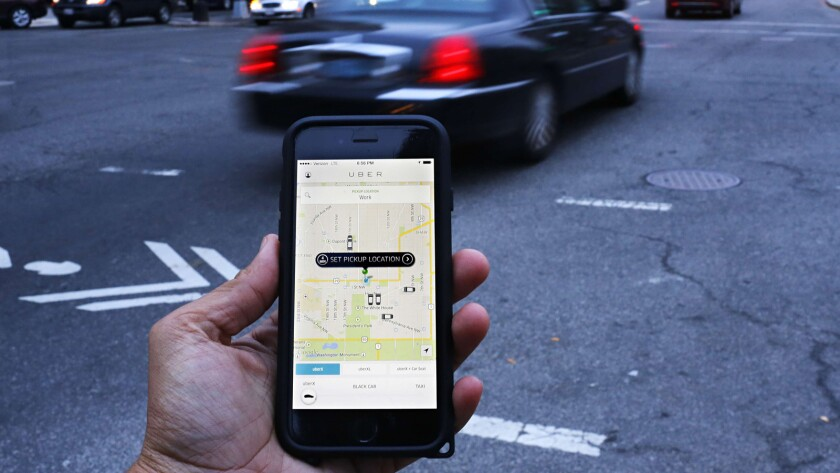 Uber might be in violation of California regulations by allowing drivers to use leased cars.