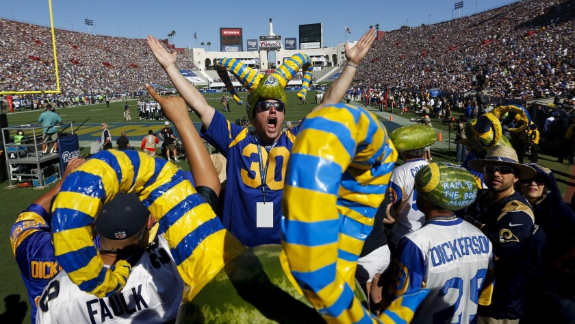 quality design 80c9d 6e5bb Get ready for chaos when the Rams and Chargers host games at ...